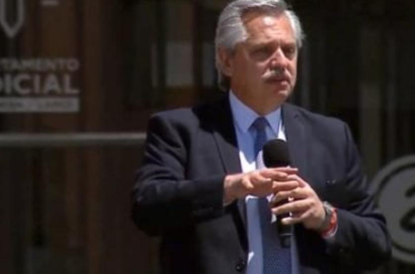 Alberto Fernández en Avellaneda: «Es necesario que la Justicia funcione, que tengamos jueces preparados y probos»