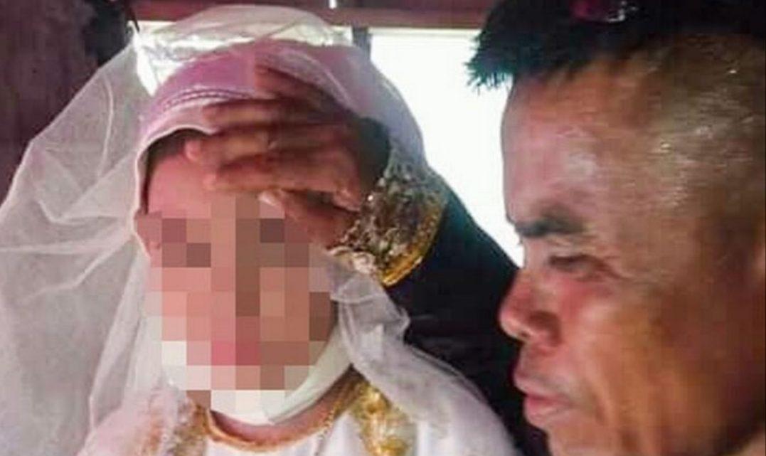 Una nena de 13 años fue obligada a casarse con un hombre de 48 y cuida a los hijos de su misma edad