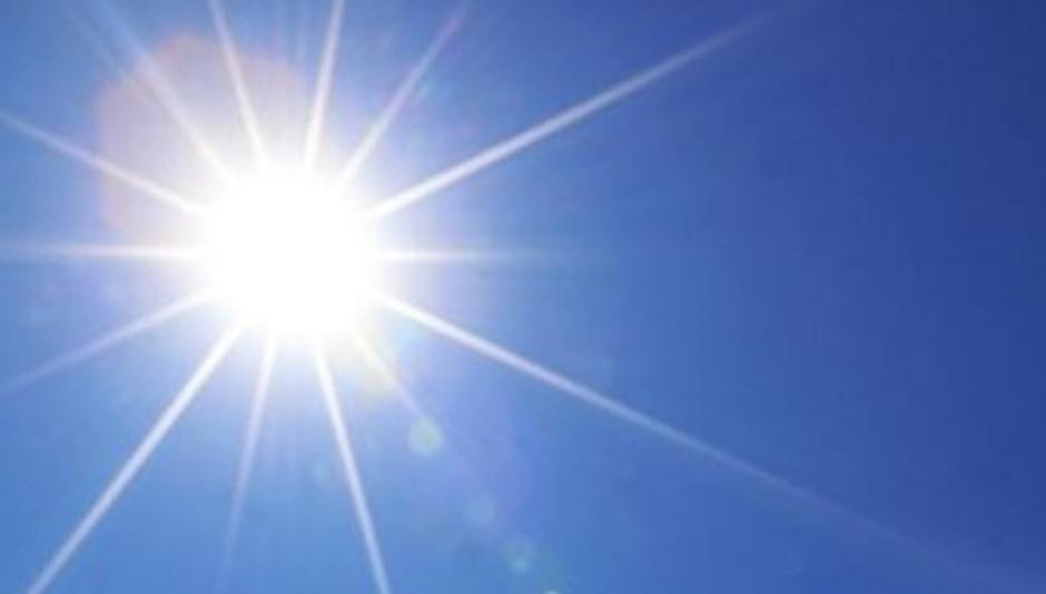 Llaman a tomar precaución por el nivel de radiación solar que se estará registrando desde este domingo