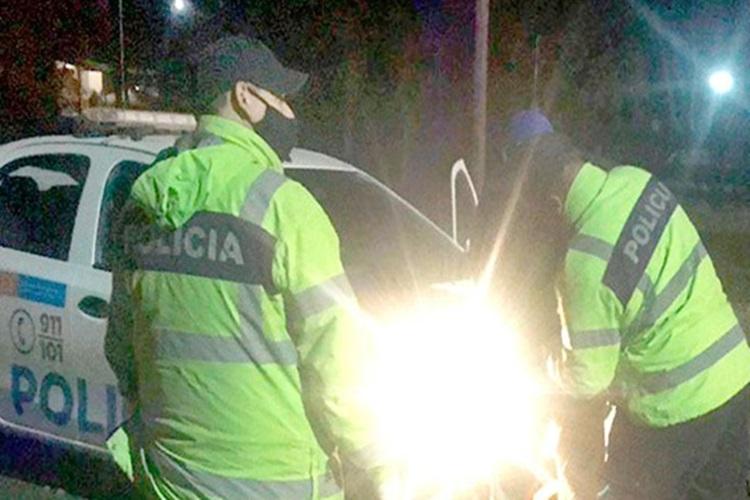 Camionero detenido luego de chocar y huir, estaba alcoholizado
