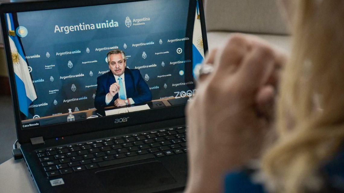 LORENA HENRIQUES SANCHES PARTICIPÓ DEL ENCUENTRO DEL MOVIMIENTO ARRAIGO QUE ENCABEZÓ EL PRESIDENTE ALBERTO FERNÁNDEZ