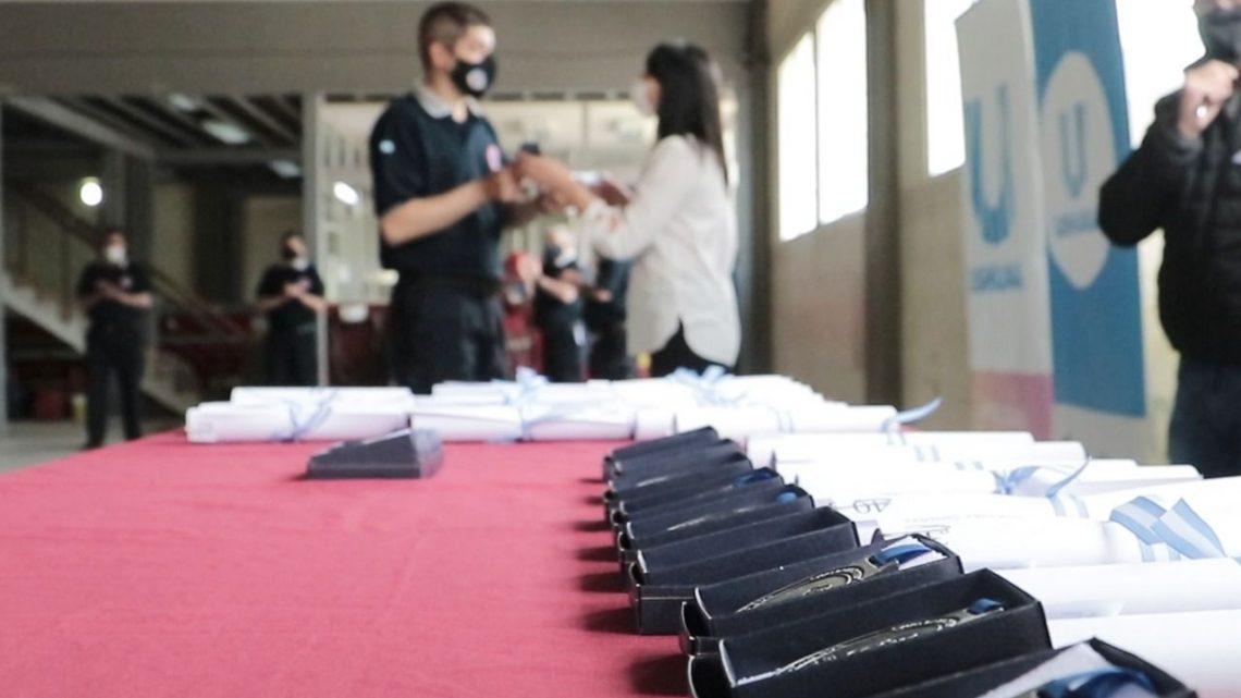LA MUNICIPALIDAD DE USHUAIA REALIZÓ UN RECONOCIMIENTO A BOMBEROS VOLUNTARIOS DE LA CIUDAD POR SU LABOR DURANTE LA PANDEMIA