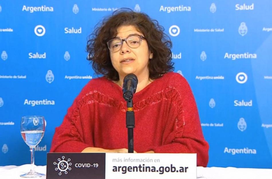 Coronavirus en Argentina: Vizzotti aseguró que «hay una estabilización y una curva en descenso» en el país