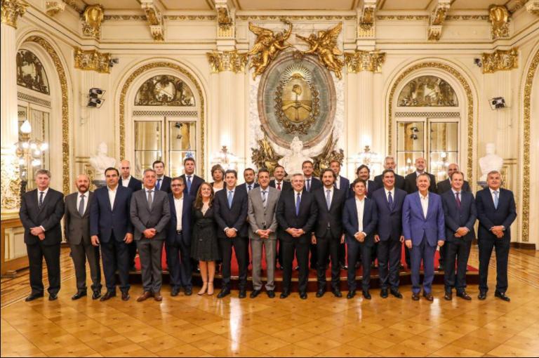 """Alberto Fernández: """"Es un paso más en la construcción de una Argentina más federal"""""""