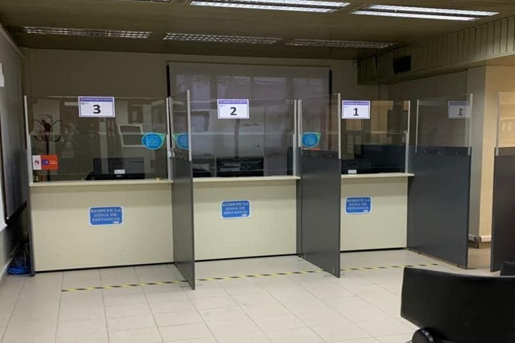 La DPE cerrada por casos positivos en Ushuaia