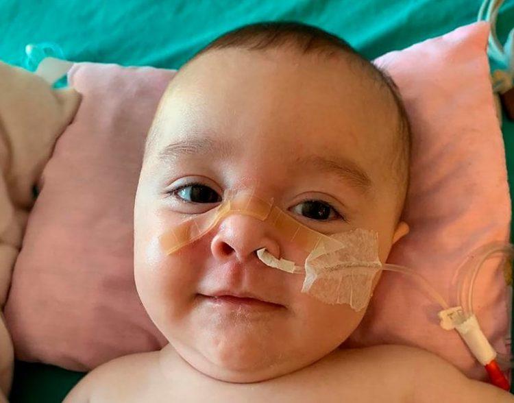 """""""Todos con Emmita"""": Tiene 7 meses y necesita el medicamento más caro del mundo"""