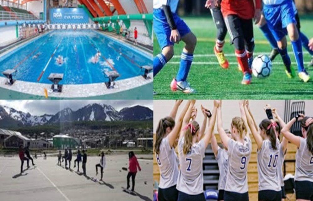 Autorizan la practica de los deportes grupales en TDF