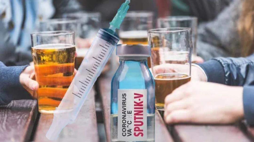Vacuna rusa contra coronavirus: no se puede tomar alcohol por 42 días