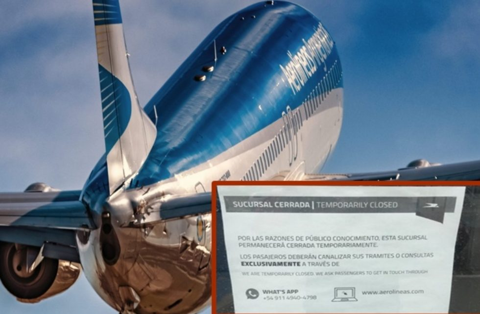 Acusan a Aerolineas de tener a los pasajeros como rehenes y sin dar soluciones