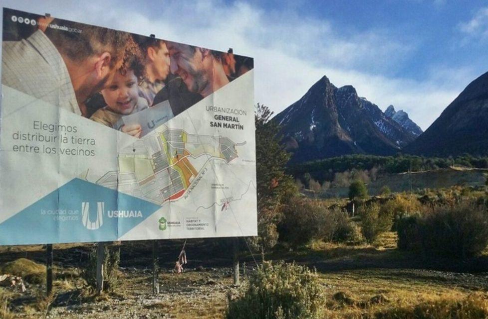Vuoto anuncio obras de gas y luz para la Urbanizacion San Martin