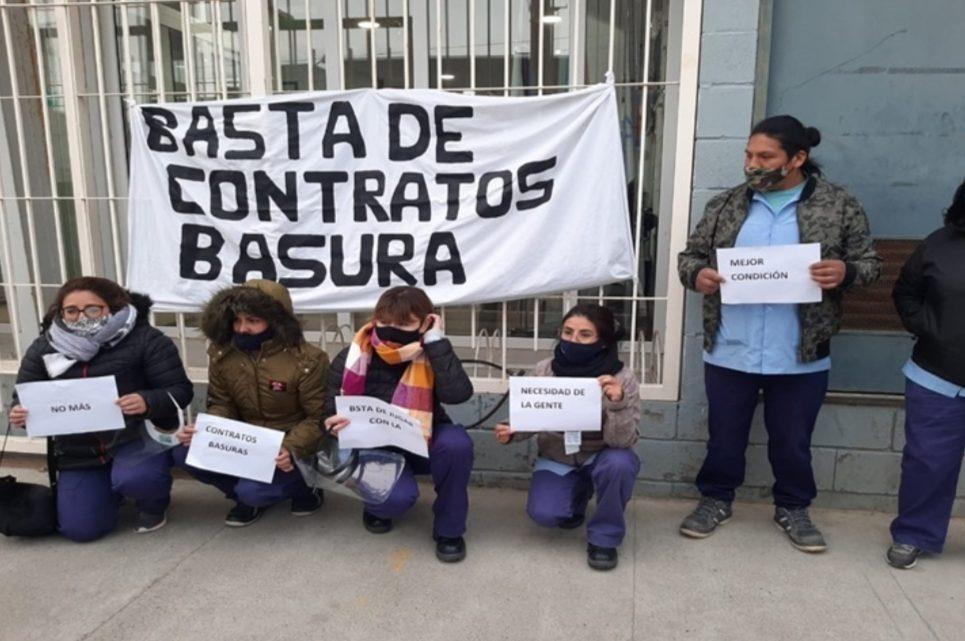 Reclaman fin de los contratos basura y estabilidad laboral