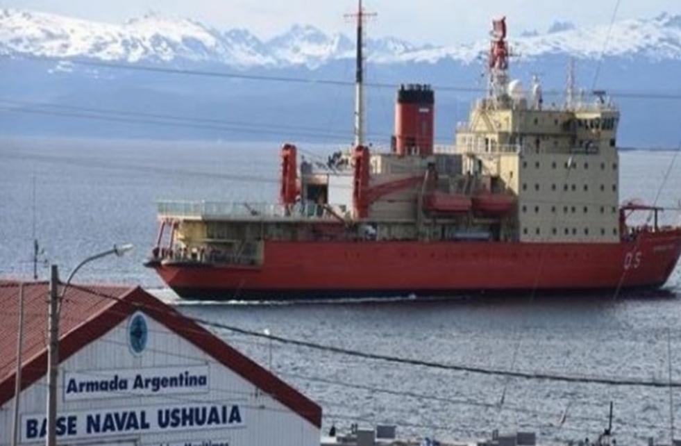 Llegará el Irizar a Ushuaia, para reabastecer a bases en la Antartida