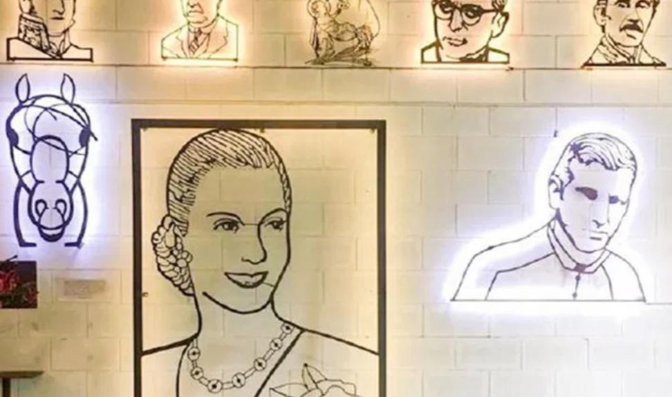 Ushuaia: Colocarán un mural de Evita realizado por el artista Alejandro Marmo
