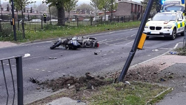 Atropelló y mató a uno de los delincuentes que le había robado su moto