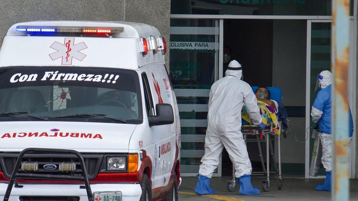 Las dramáticas imágenes de la pandemia en la Ciudad de México: hospitales a punto del colapso