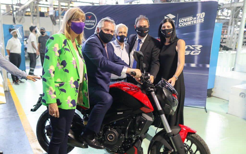 El Presidente participó del anuncio de inversiones de Corven Motors Argentina por $980 millones que generará cientos de puestos de trabajo