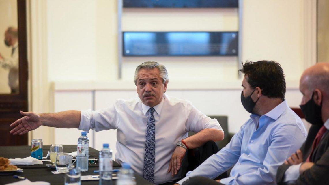 El Presidente participa de la reunión de Gabinete Económico en Casa Rosada