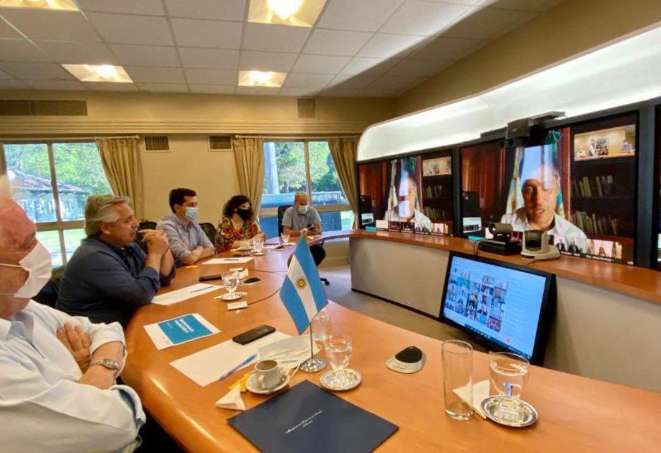 Cononavirus: el Presidente mantiene una reunión con Gobernadores para ultimar de la campaña de Vacunación