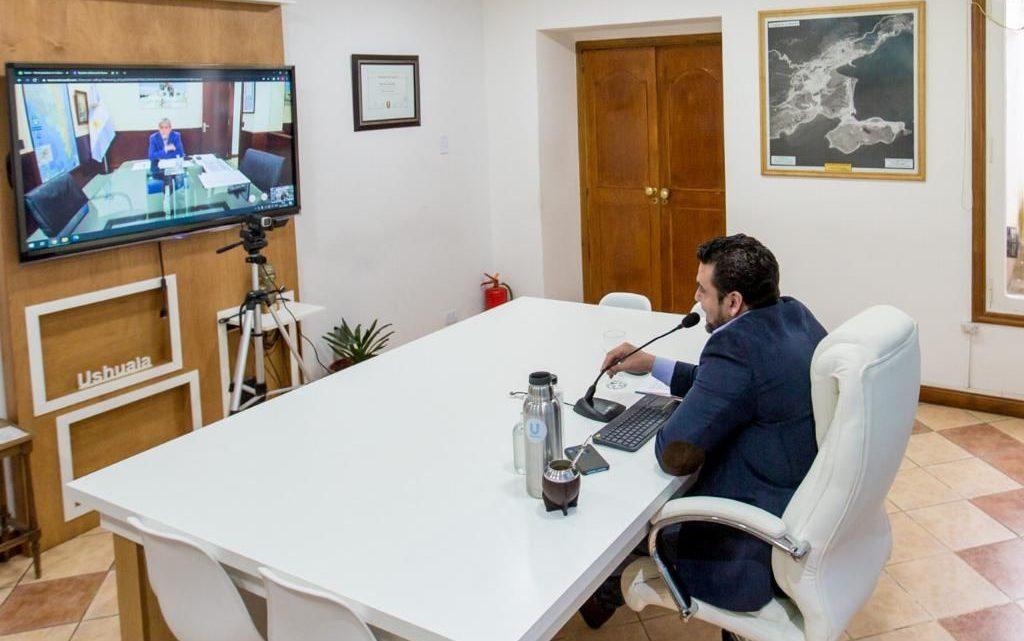 VUOTO SE REUNIÓ CON JORGE FERRARESI, NUEVO MINISTRO DE DESARROLLO TERRITORIAL Y HÁBITAT DE NACIÓN