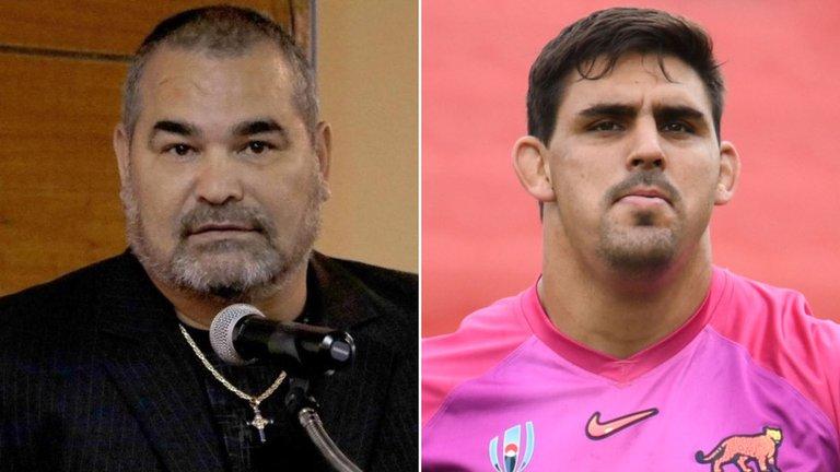 """""""Tú no has ganado nada, Matera"""": la respuesta de José Luis Chilavert al capitán de Los Pumas por sus mensajes discriminatorios"""