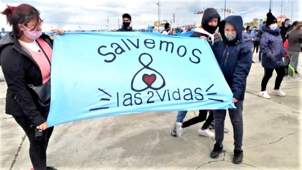Ushuaia volverá a manifestarse en contra del aborto libre y gratuito