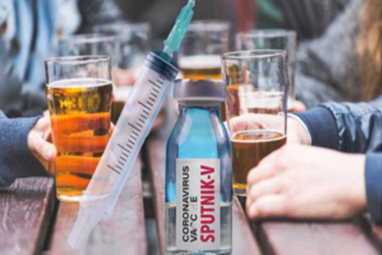 Vacuna rusa para que sea efectiva no se podra tomar alcohol
