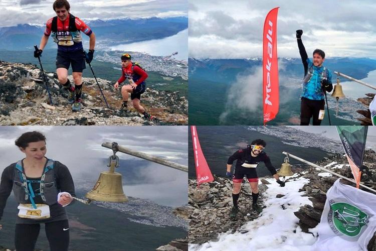 Guzman, Di Pilato, Retamal y Esquivel ganadores de la Vertical Race en Ushaia