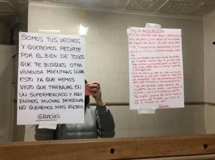 La contundente respuesta de una empleada de supermercado al pedido de sus vecinos de que dejara la vivienda