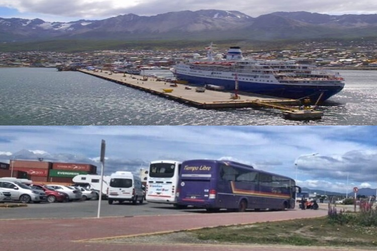 Ampliacion del Puerto y terminal de omnibus para Ushuaia