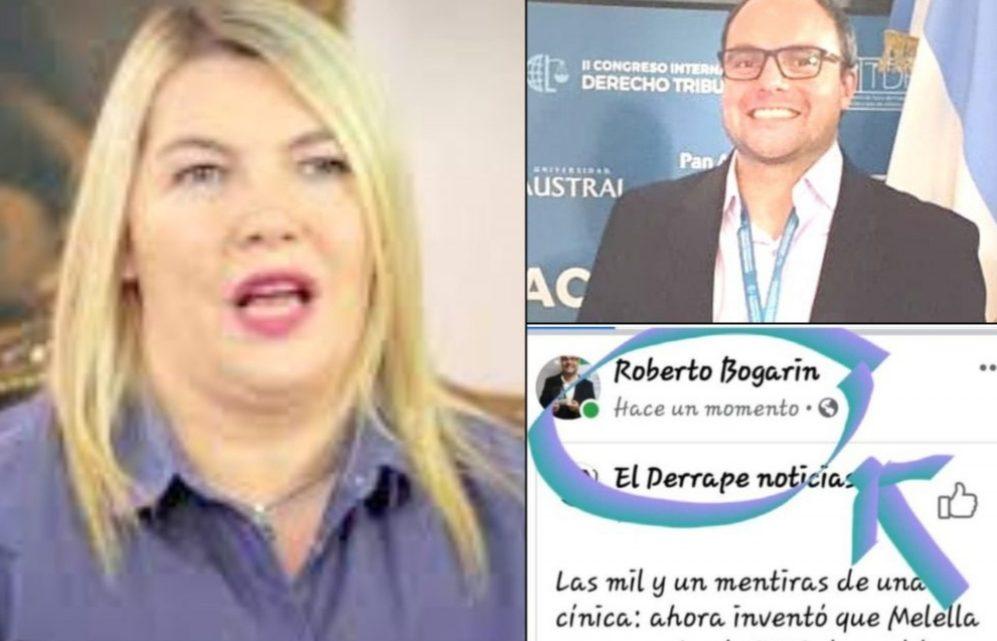 """""""El deporte del gobierno de Melella es compartir fake news"""""""