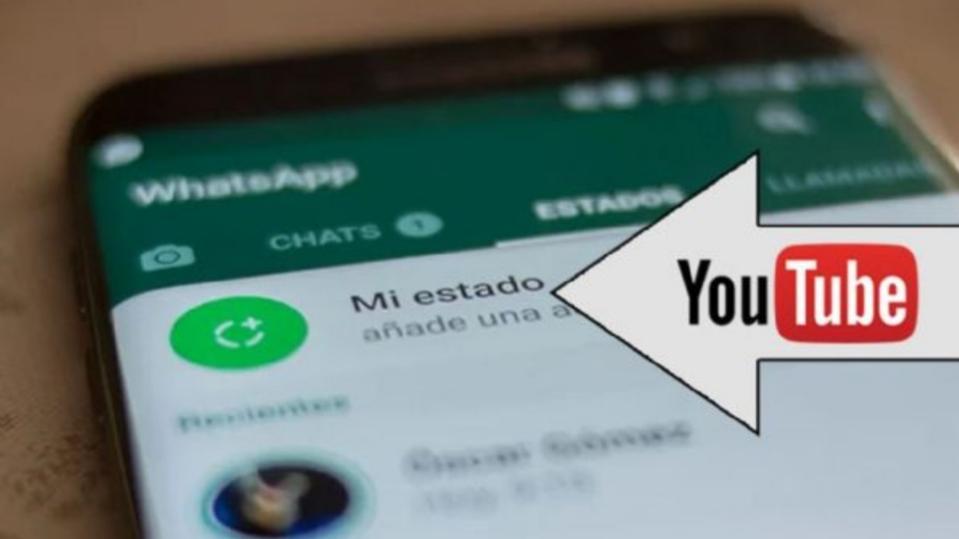 Poné videos de YouTube en los estados de WhatsApp fácilmente