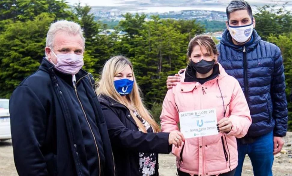 Daniele: «Vuoto está cumpliendo con el derecho a la tierra que es el sueño de cada familia»