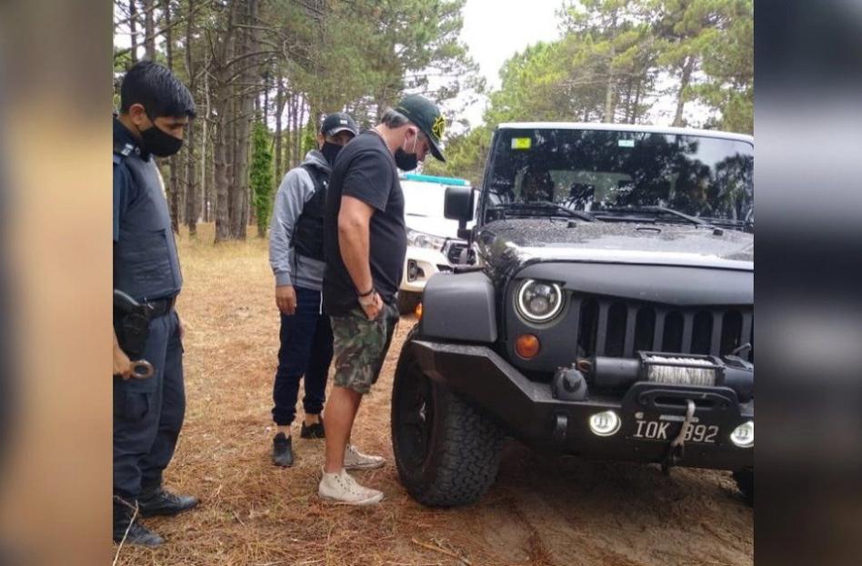 El nutrido prontuario del empresario detenido en Pinamar