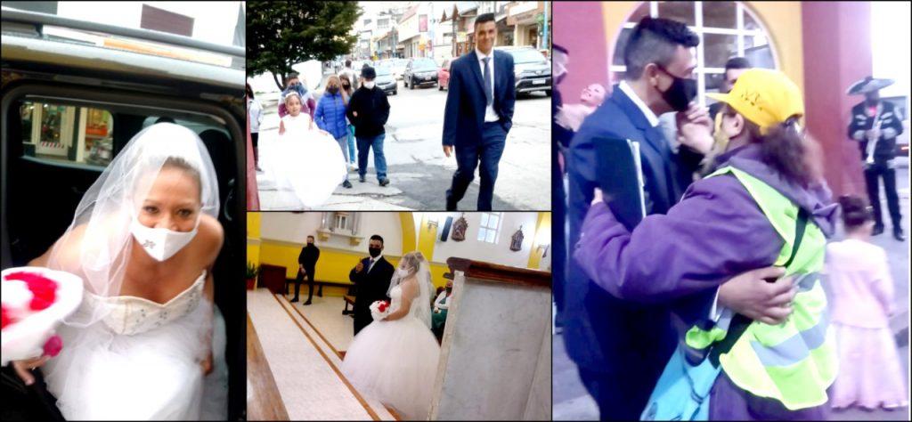 Jésica y Carlos se unieron en matrimonio
