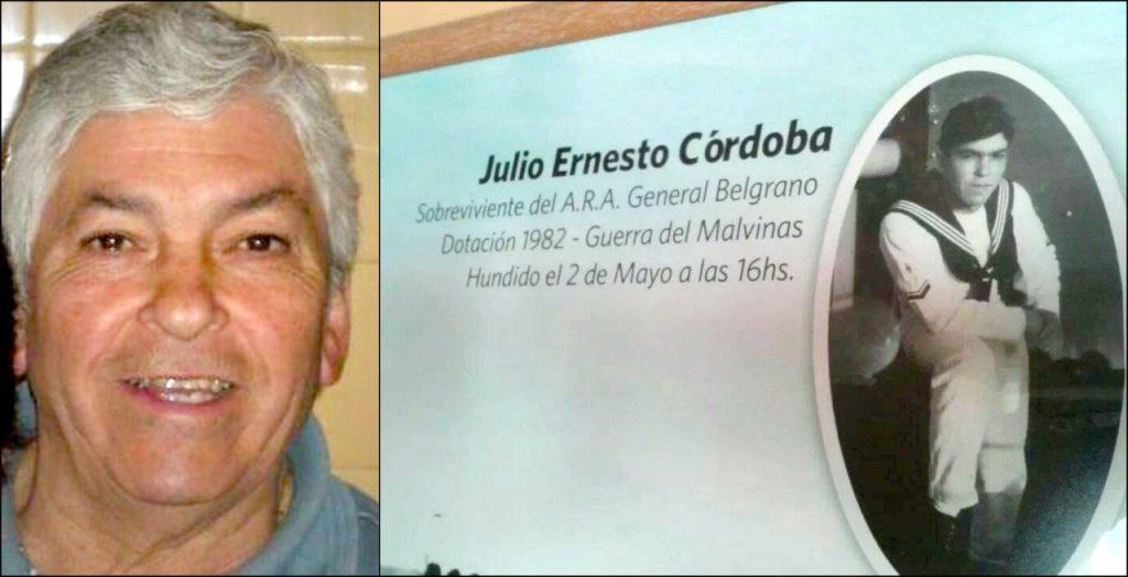 Falleció el ex combatiente de Malvinas Julio Ernesto Córdoba