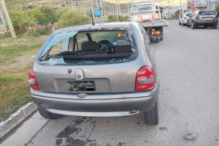Denuncian agresion contra un inspector de Transito en Ushuaia