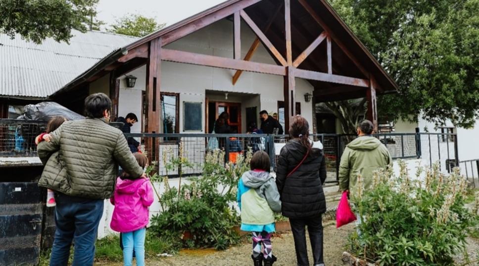 Escuela experimental de Ushuaia fue la primera en retomar las clases presenciales