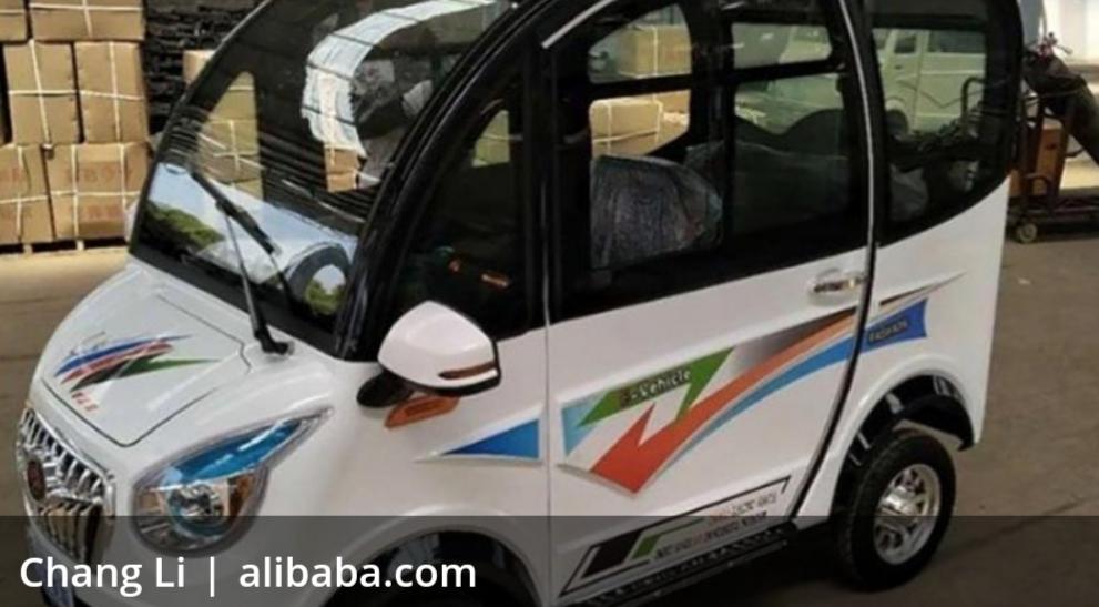 El auto eléctrico más barato del mundo cuesta 20 mil pesos; se vende en Internet