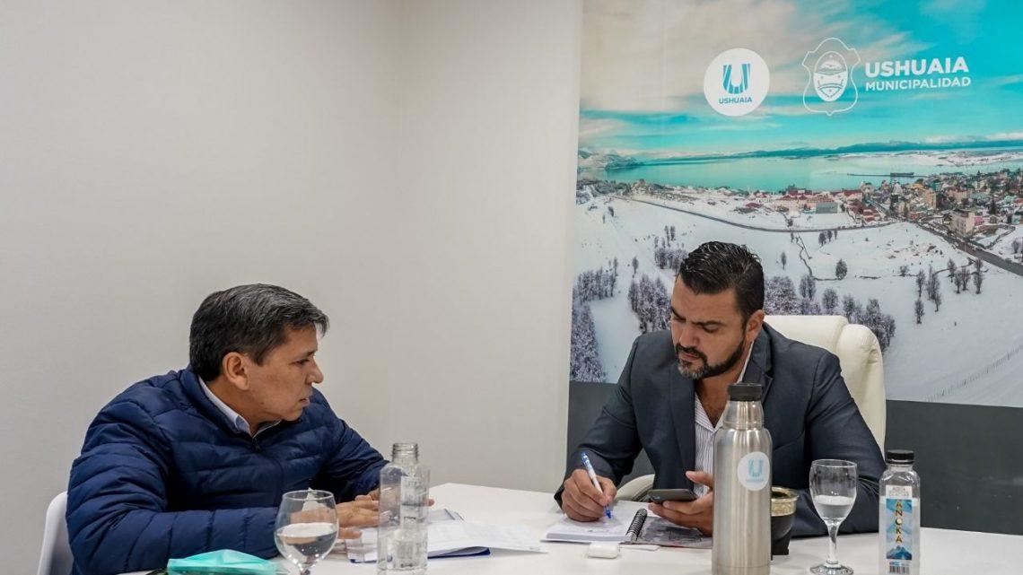 WALTER VUOTO Y JUAN CARLOS PINO AVANZARON EN LA AGENDA LEGISLATIVA COMÚN 2021