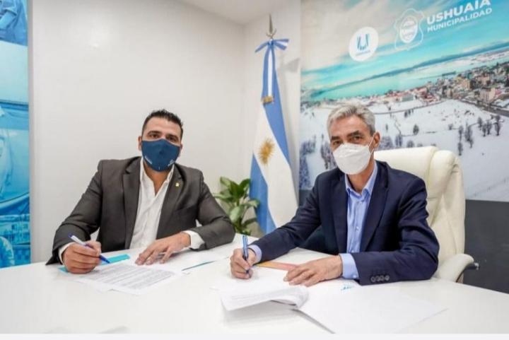 """Muñiz siccardi: """"este año comenzaremos con la obra de la terminal con financimiento de nación"""""""