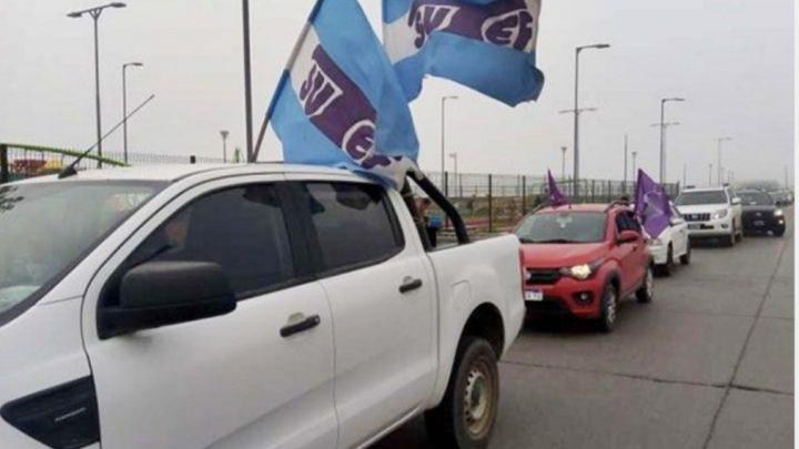 Lunes 19 caravana del SUTEF para que se suspendan las clases presenciales en TDF