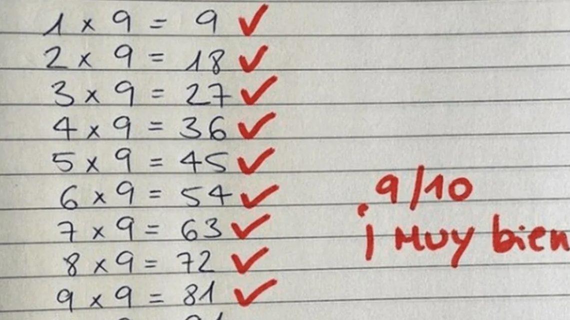 Maestro cometió grave «error» matemático, pero en realidad quiso dejar una enseñanza a sus alumnos