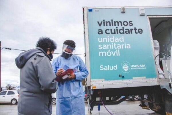 Ushuaia: Vuelven los hisopados masivos este miércoles en el Pipo