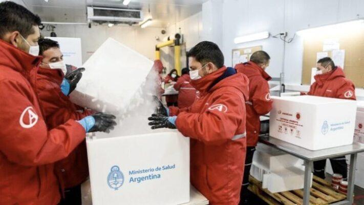 Tierra del Fuego recibirá 3 mil vacunas de Astrazeneca