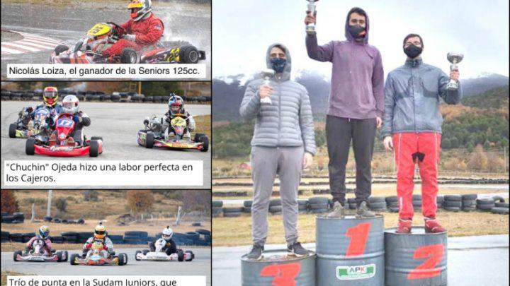 Nico Loiza, el gran ganador pese a la lluvia