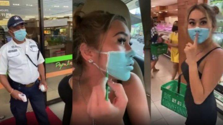 Estos Influencers Se Grabaron Visitando Un Supermercado Con Barbijos Pintados Y Serían Deportados