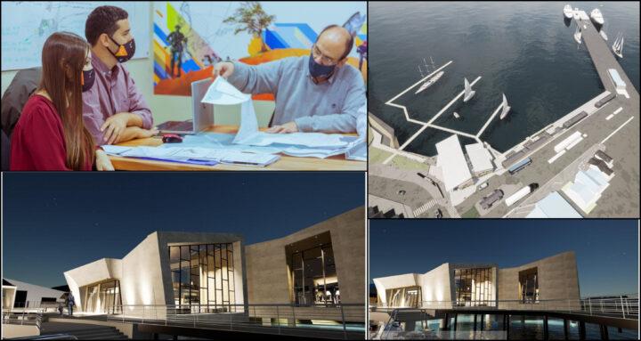 Se presentó a empresas turísticas el proyecto de obra del nuevo muelle comercial de Ushuaia