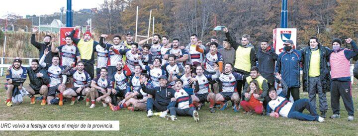 Ushuaia Rugby Club derrotó a Las Águilas y recuperó la corona