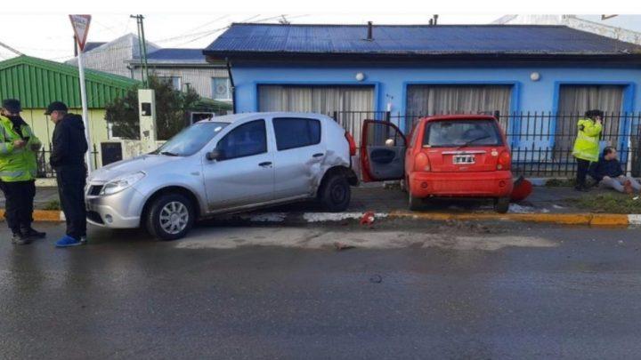 Choque Con Tres Vehículos Afectados En Ushuaia