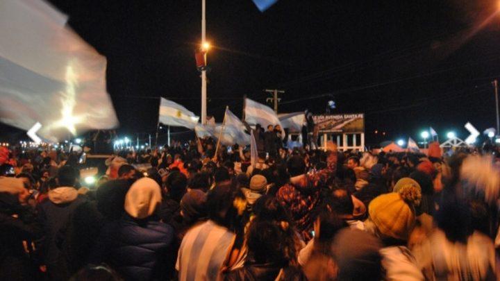 Multitudinario Festejo En Río Grande Por El Título De Argentina En La Copa América